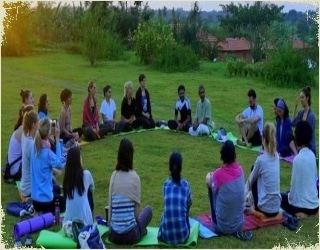 yoga retreat for beginners in India